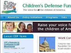 childrensdefense.org gets a facelift