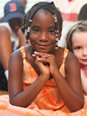 Smiling Girl at a Freedom School