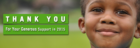 EOY 2015 Donor Thank You