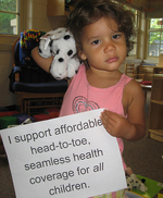 Support health coverage for all children